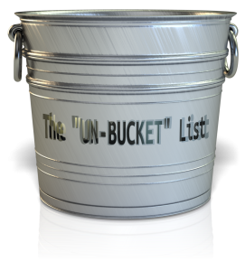 The UN-Bucket List and Possibility Thinking!